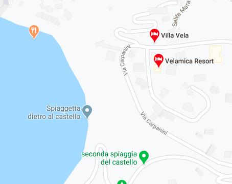 mappa resort velamica
