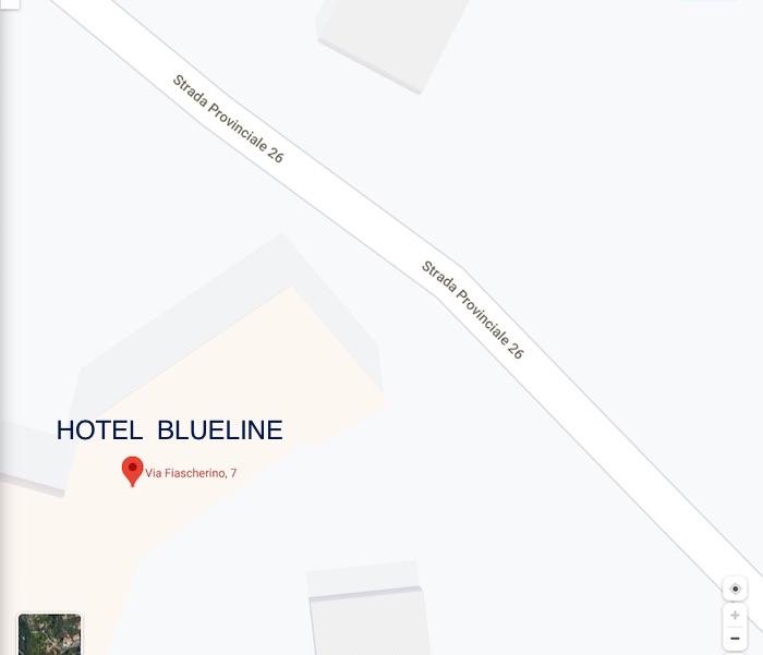 mappa blueline lerici