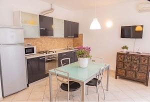 Residence Baia Blu cucina e zona giorno