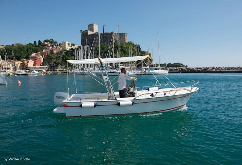 lerici boat rent foto