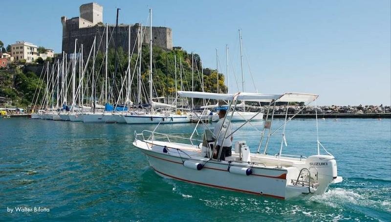 lerici boat rent