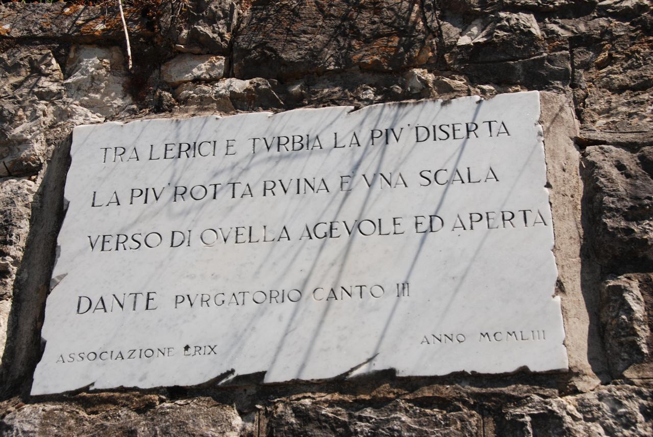 Guarda questa foto sull'evento Dante, la Liguria e altro a Lerici