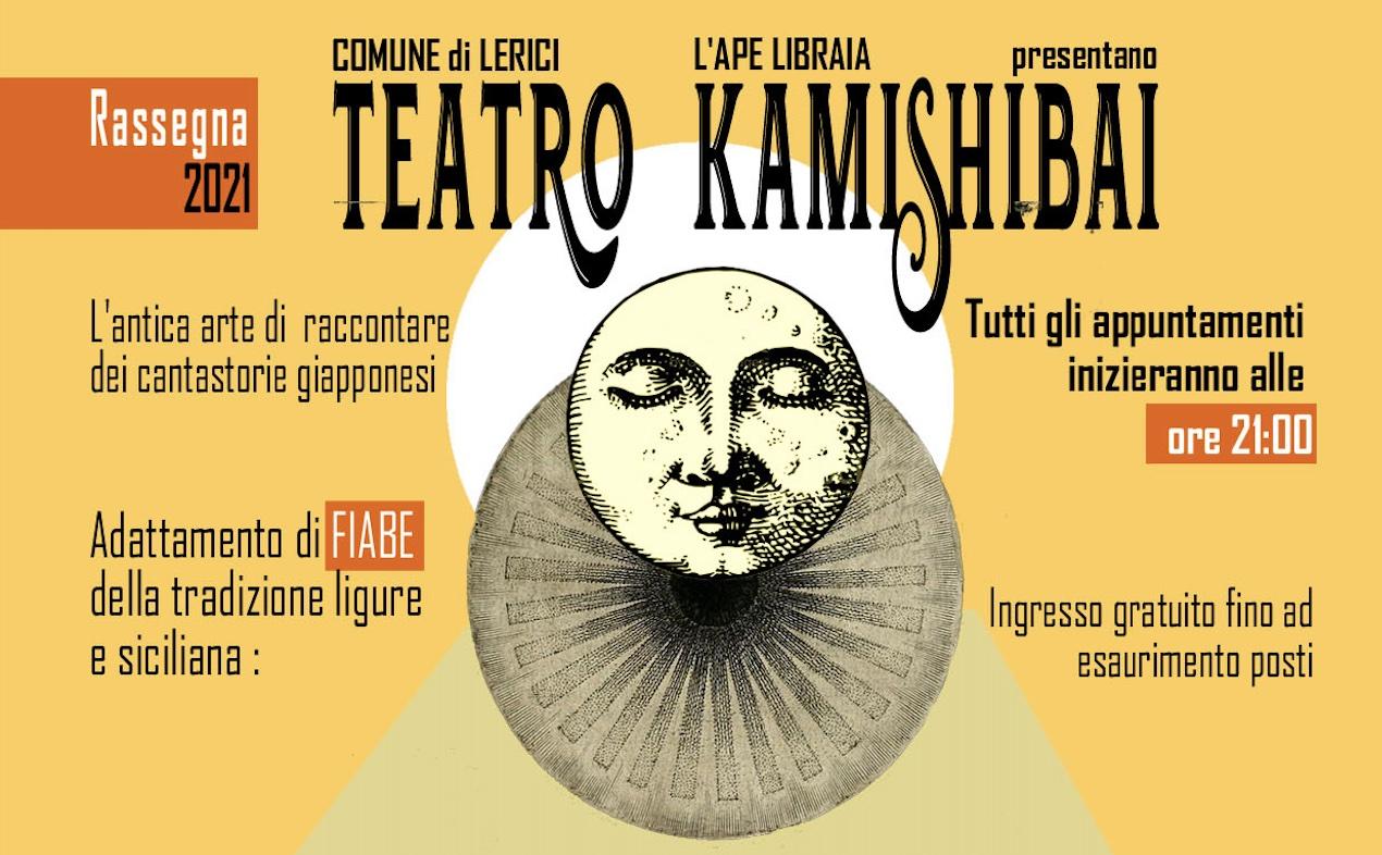 locandina teatro kamishibai
